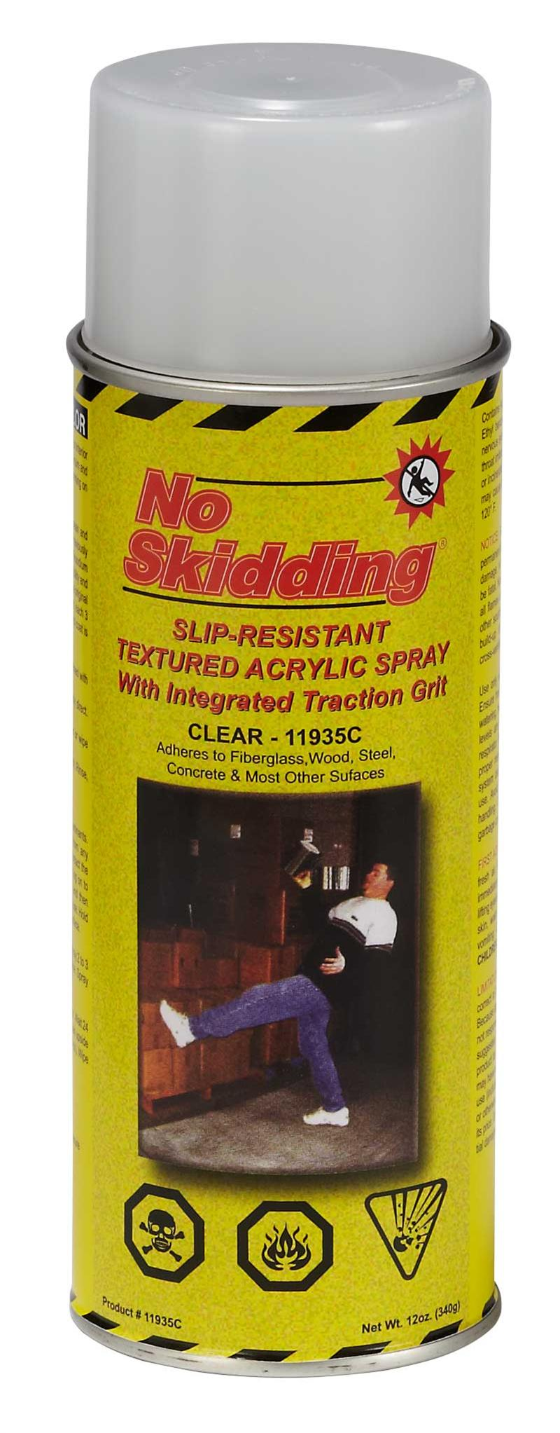Textured acrylic spray anti slip coatings for No skid paint
