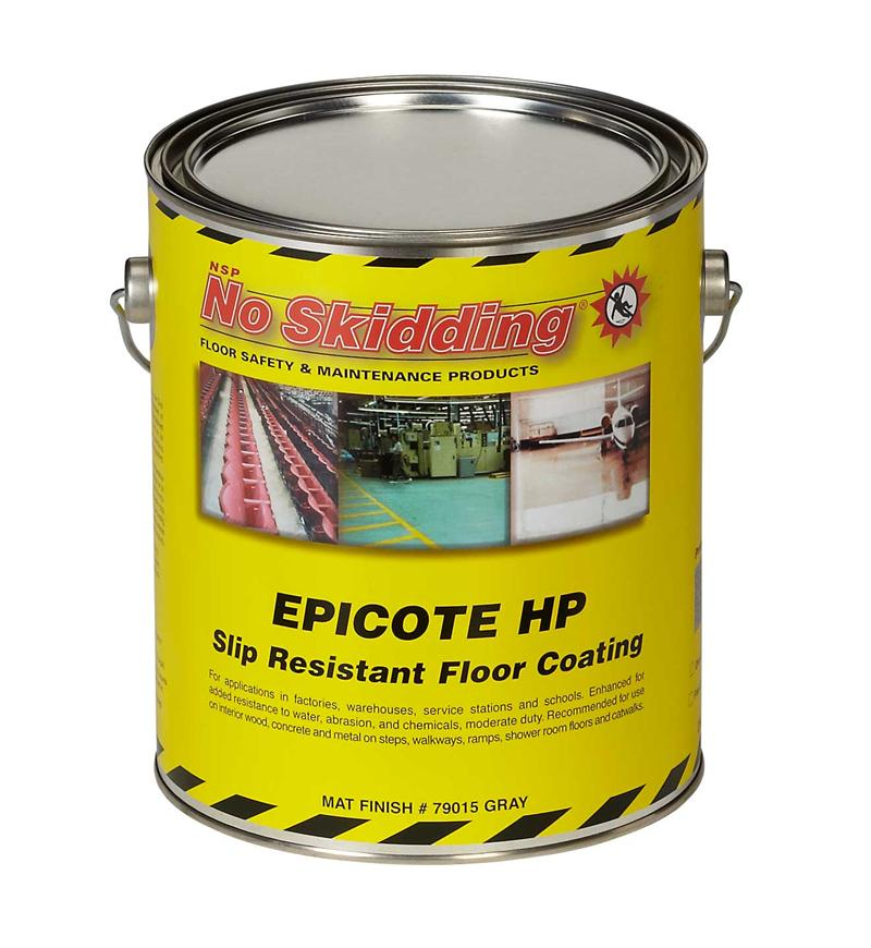 Epicote epoxy slip resistant high profile coating for No skid paint