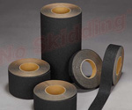 "1"" X 60 ft. NS5100B Series Anti-Slip High Traction Coarse Safety Tape"