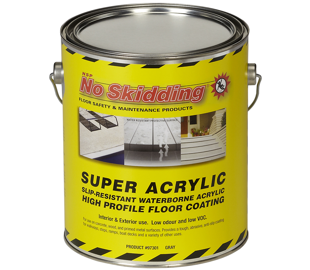 Non Skid Coatings – One Part