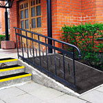 Anti slip frp fiberglass walkway and ramp panels.